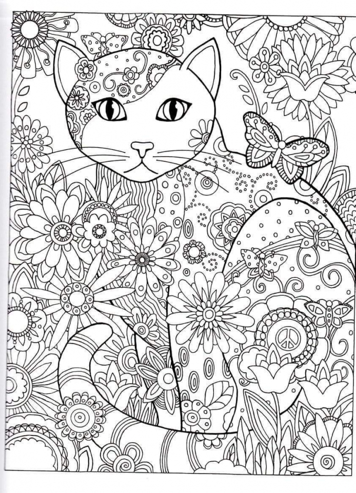 Get This Abstract Adult Coloring