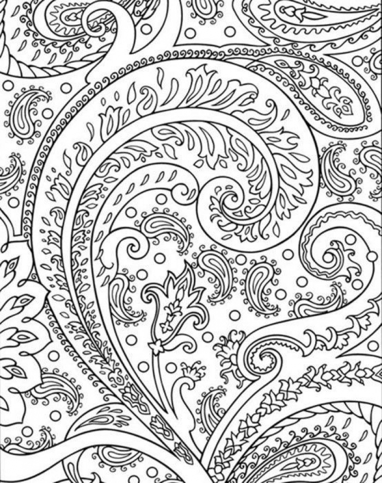Get This Abstract Coloring Pages