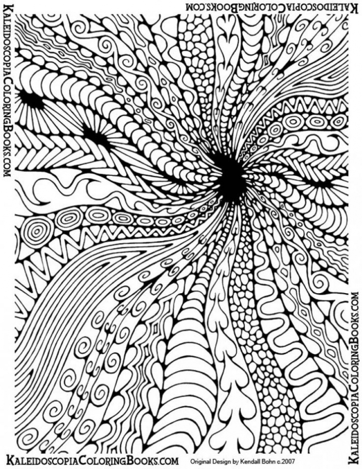 Get This Abstract Coloring Pages For Adults 76318