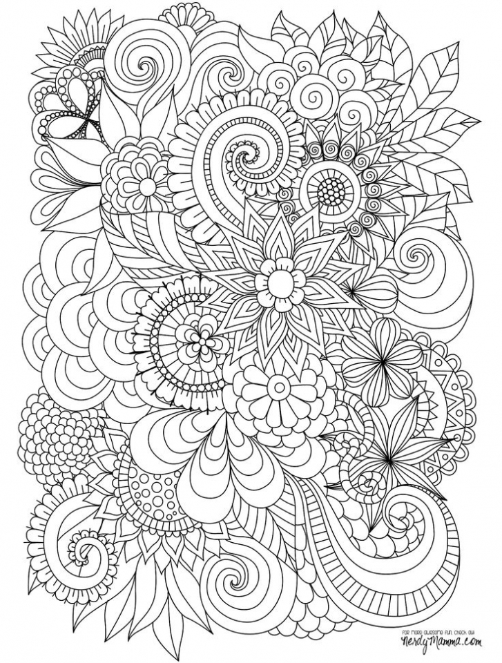 abstract coloring pages - Abstract Coloring Books