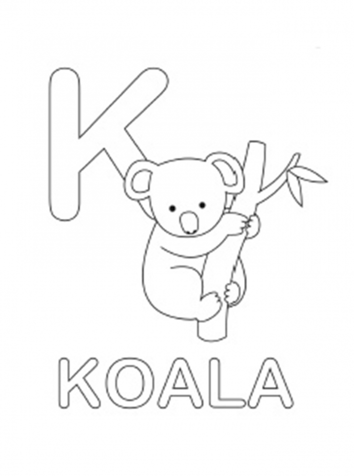 Alphabet Coloring Pages Kids Printable   67863