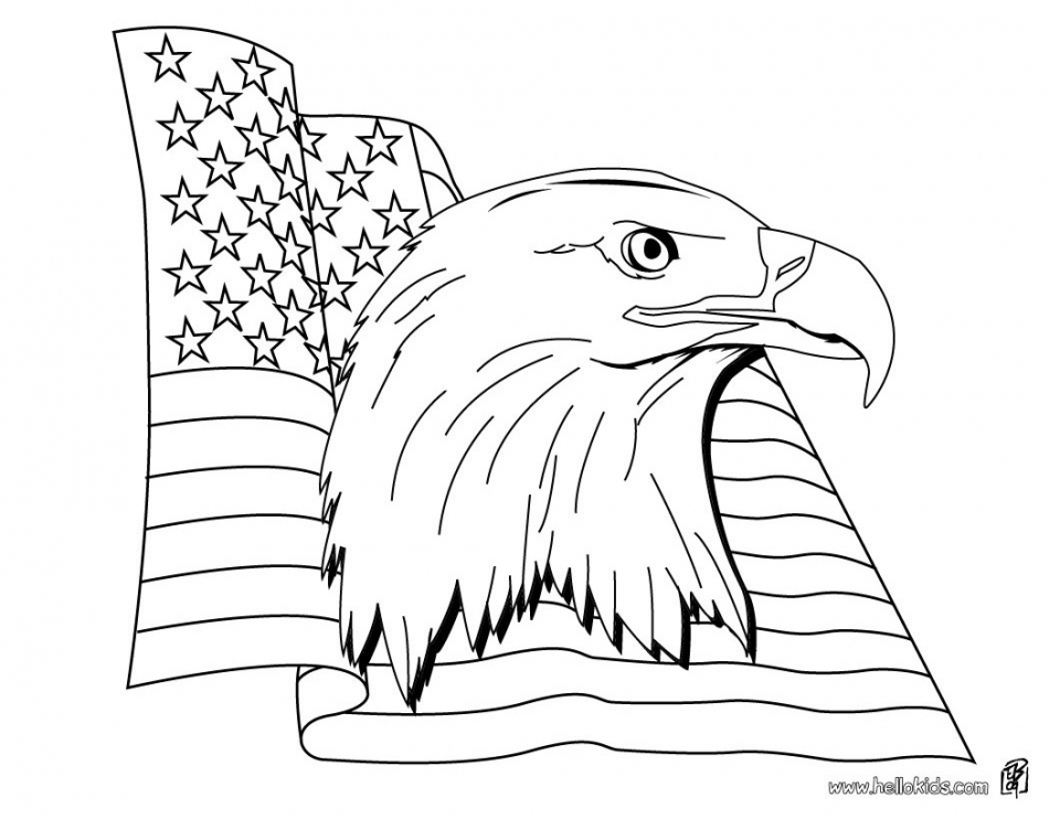 coloring pages of american flag - get this american flag coloring pages free to print 85684