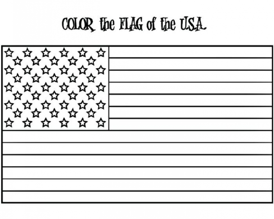 Get This American Flag Coloring Pages to Print for Kids 63819
