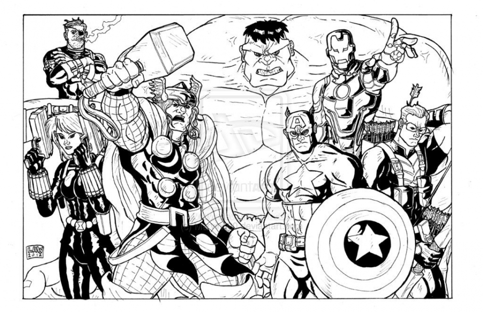 Get This Avengers Coloring Pages Boys Printable 31758 !