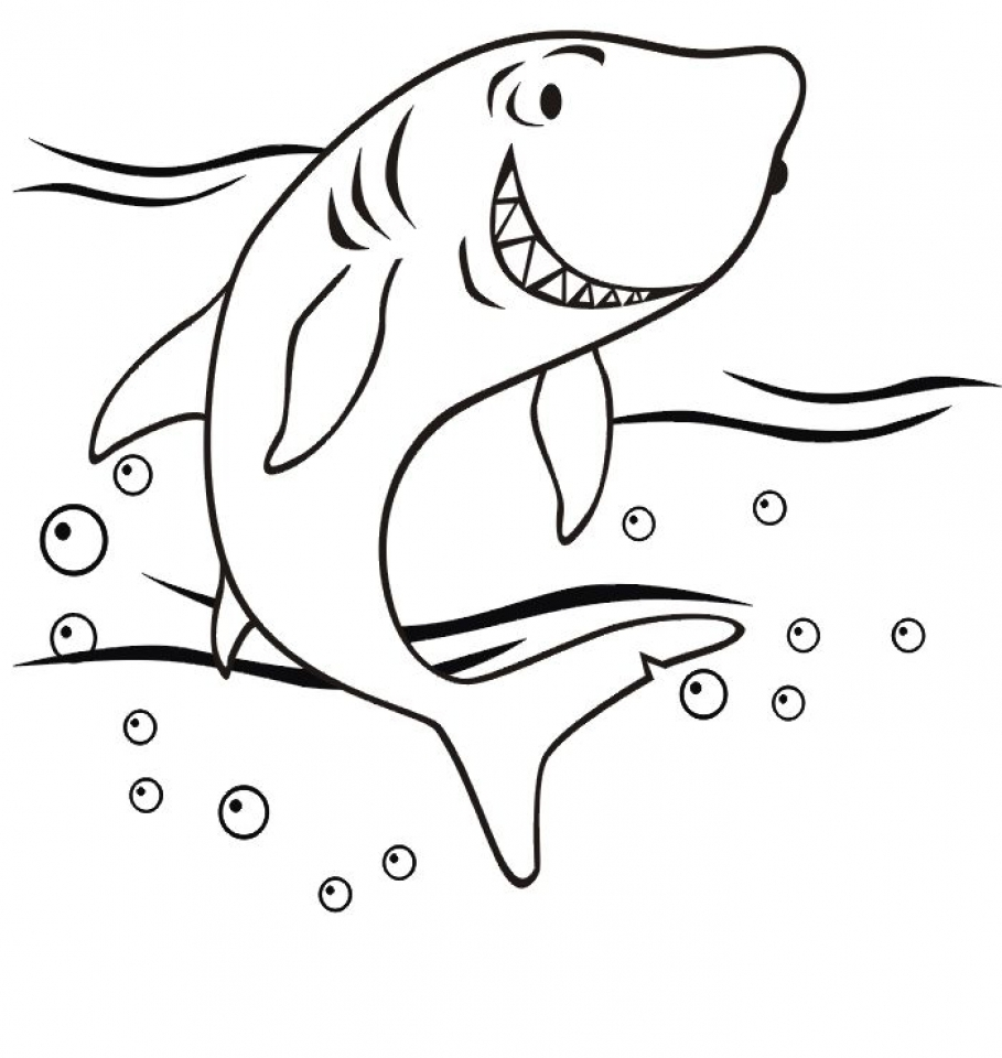 Get this baby shark coloring pages 56128 for Free printable shark coloring pages