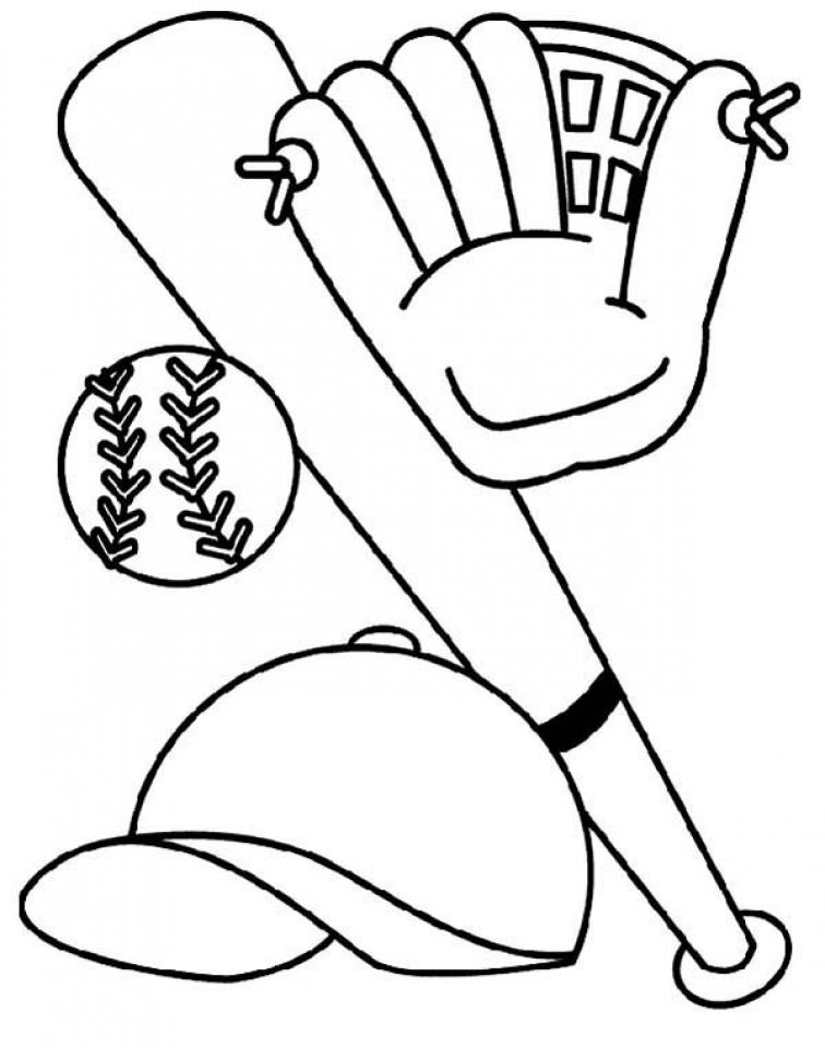 baseball coloring pages kids printable 46772 - Baseball Coloring Pages For Kids
