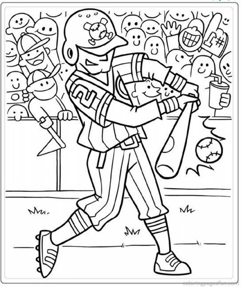 baseball coloring pages for preschoolers | Get This Printable Baby Animal Coloring Pages Online 64038