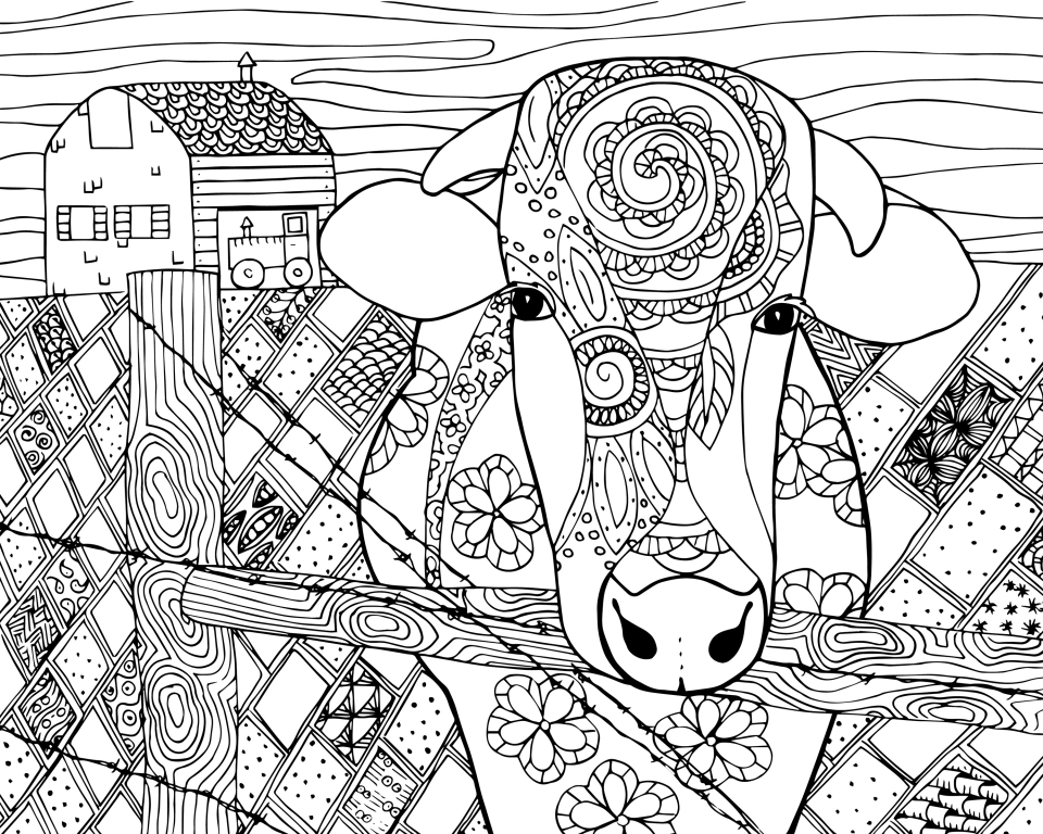 Get This Beautiful Abstract Coloring Pages Printable For