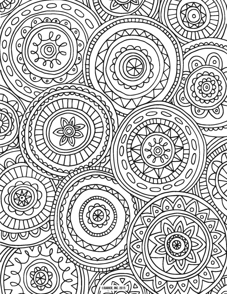 Superbe Beautiful Abstract Coloring Pages Printable For Grown Ups 79567