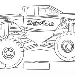 20 free printable monster truck coloring pages for Maximum destruction coloring pages