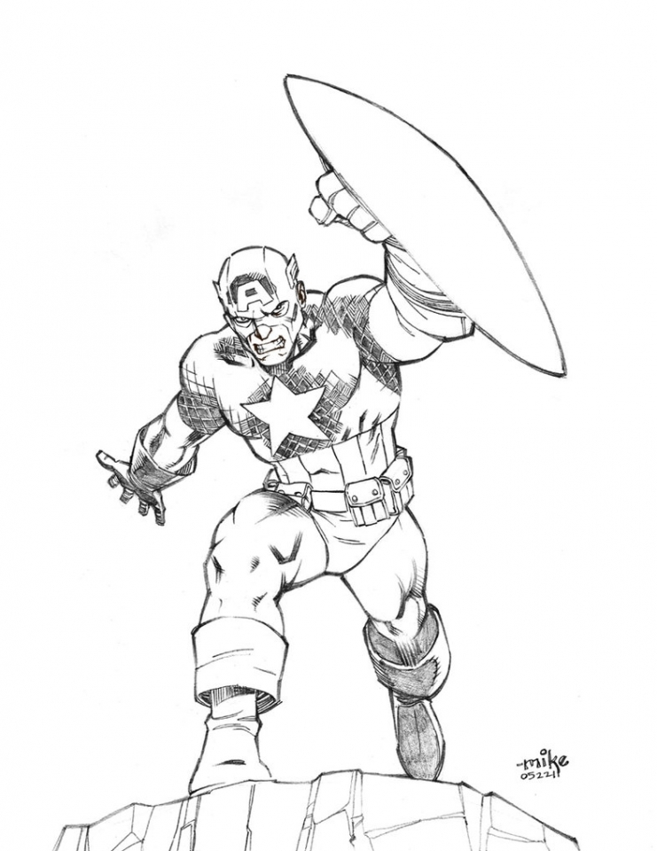 captain america coloring pages for teenage boys 77853 - Coloring Pages Teenagers Boys