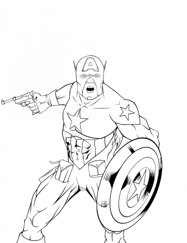 captain america coloring pages marvel avengers 76842