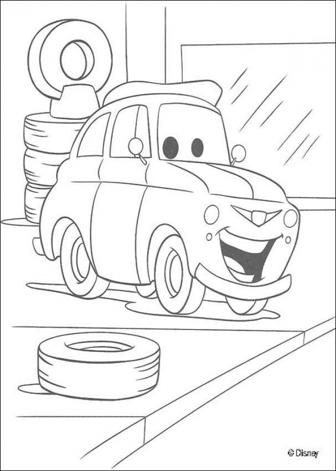 Get This Cars Coloring Pages Disney Printable for Kids 21547