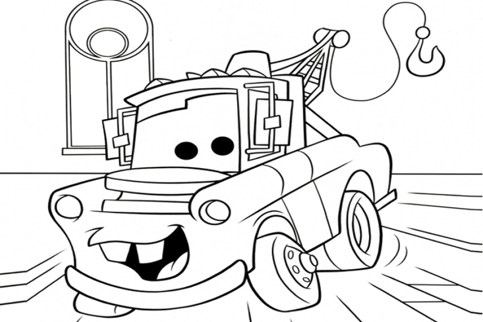 Get This Cars Coloring Pages Free Printable 12197