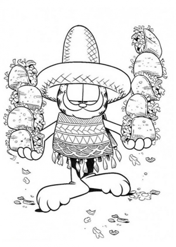 Cinco de Mayo Coloring Pages Free for Children   16721