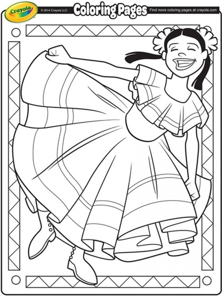 Cinco De Mayo Coloring Pages To Print Online 12603
