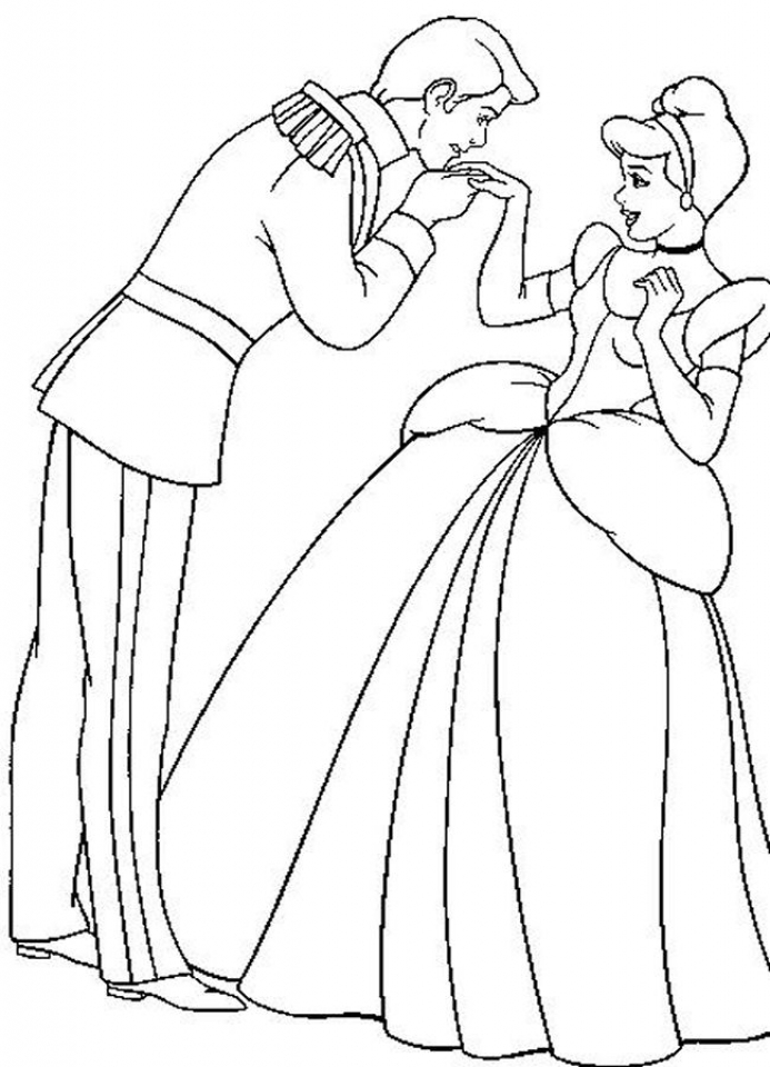 Get This Cinderella Coloring Pages Free Printable 69960 !