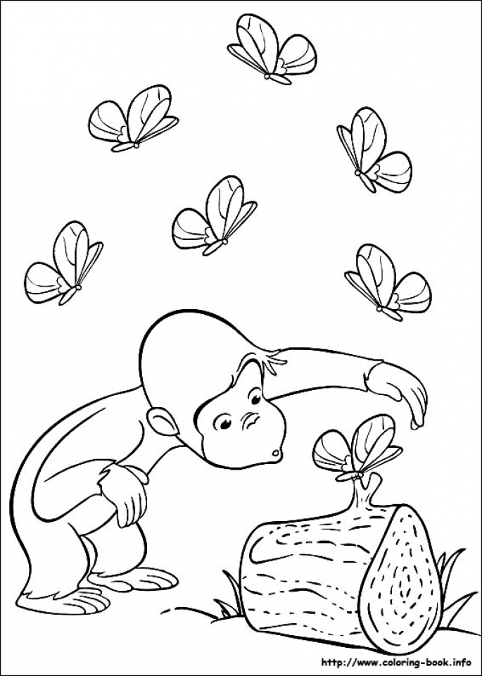 Get This Curious George Coloring Pages Free 27418