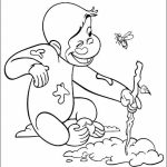 20 Free Printable Curious Gee Coloring Pages