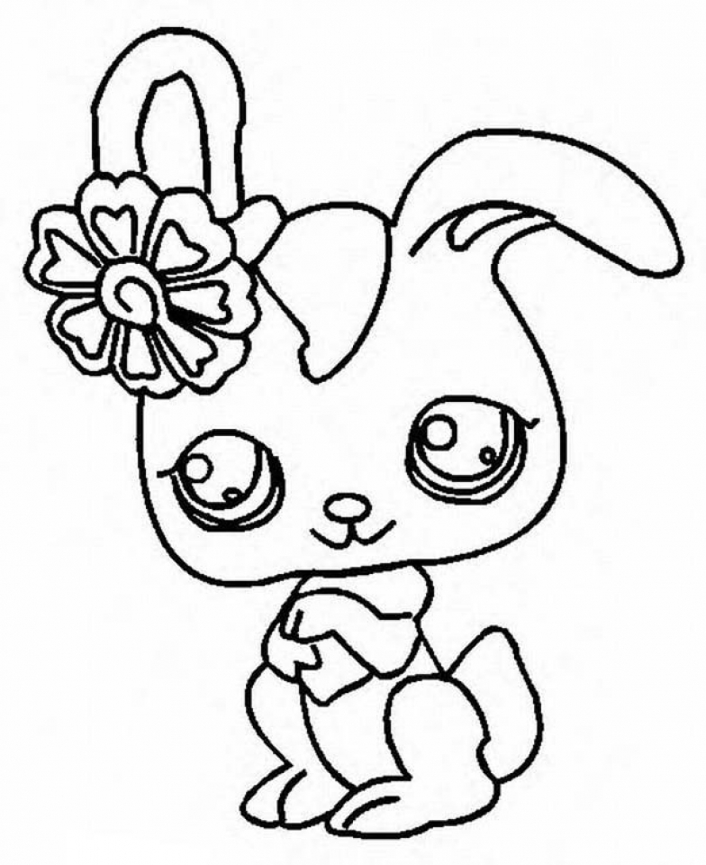 Dog Color Sheets Littlest Pet Shop Dog Coloring Pages Printable ... | 960x784