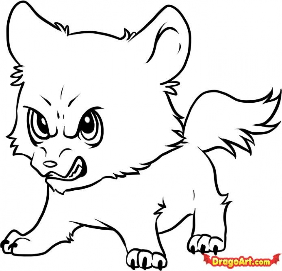 cute wolf coloring pages 72218 - Wolf Coloring Pages