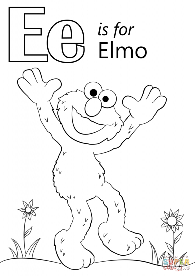 Get This Elmo Coloring Pages Printable for Toddlers 40764 !
