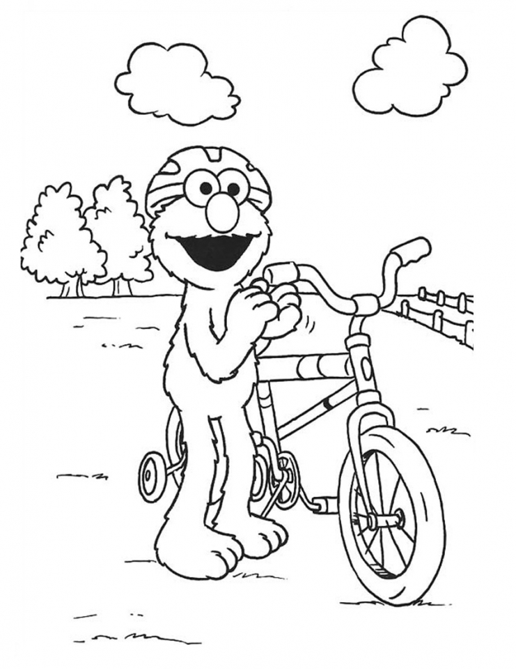 elmo coloring pages printable for toddlers 41703