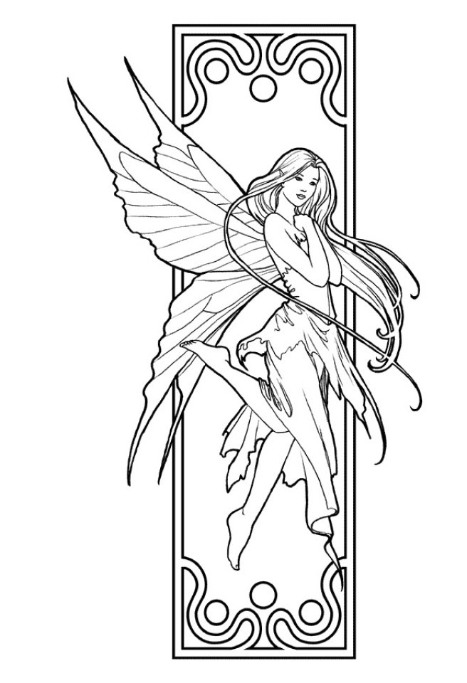 Get this fairy coloring pages free printable 35751 for Fairy coloring pages printable free