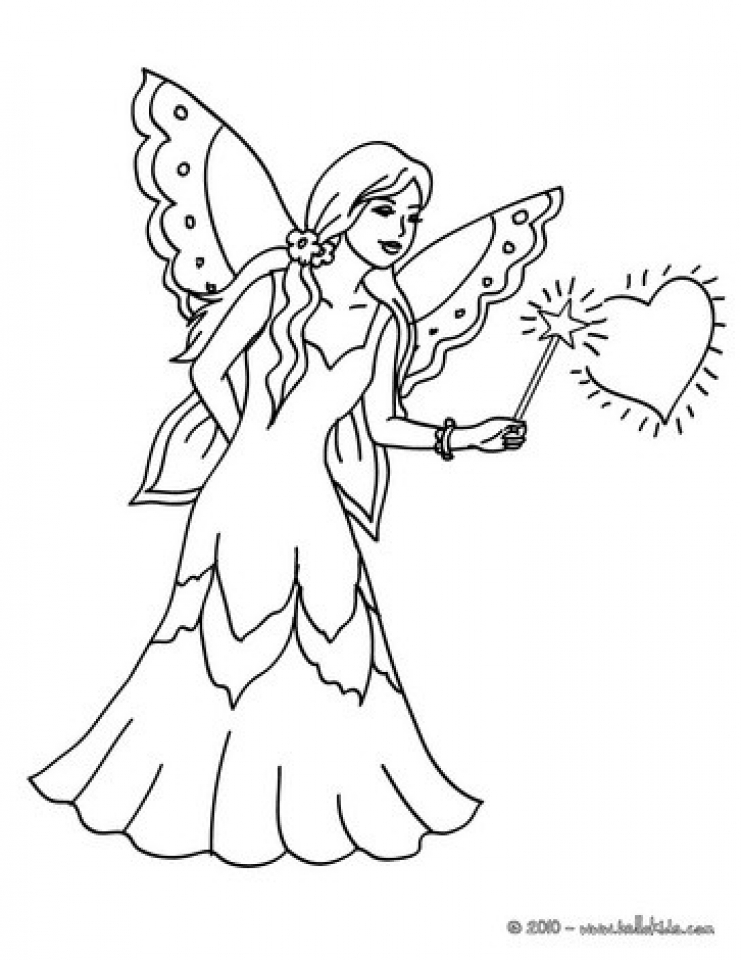 Get This Fairy Coloring Pages Free Printable 36316 !