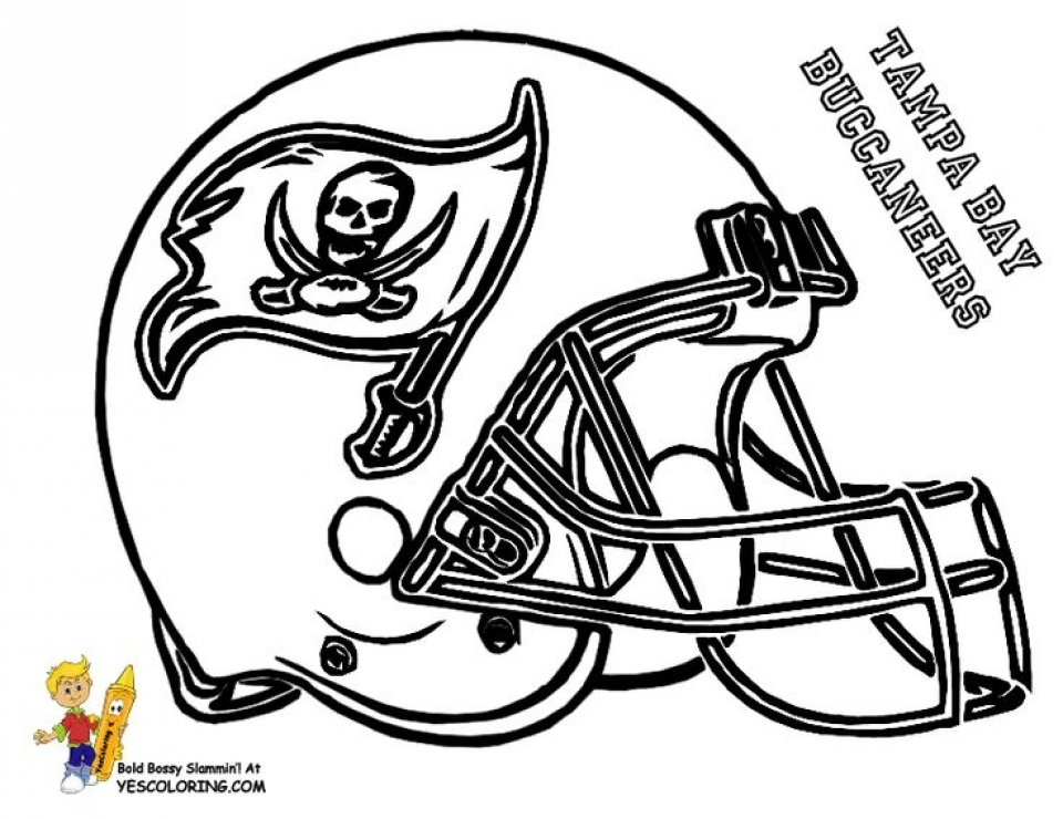 Get This Football Helmet NFL Coloring Pages for Boys Printable 23142