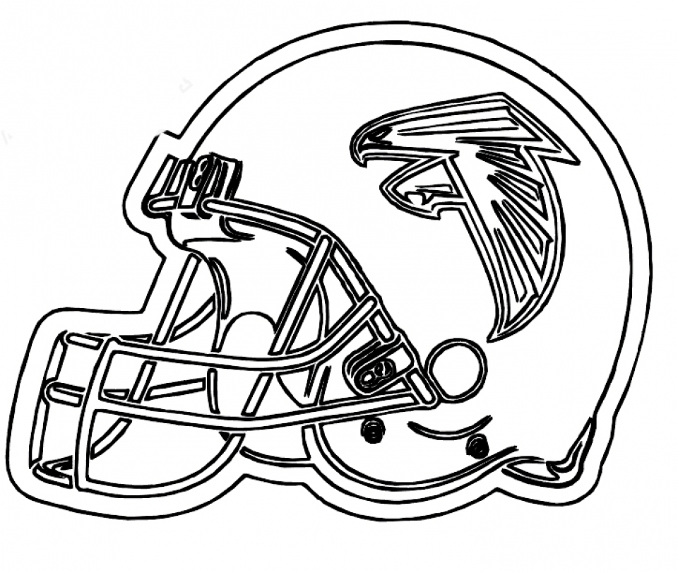 Nfl player free coloring pages for Football color page
