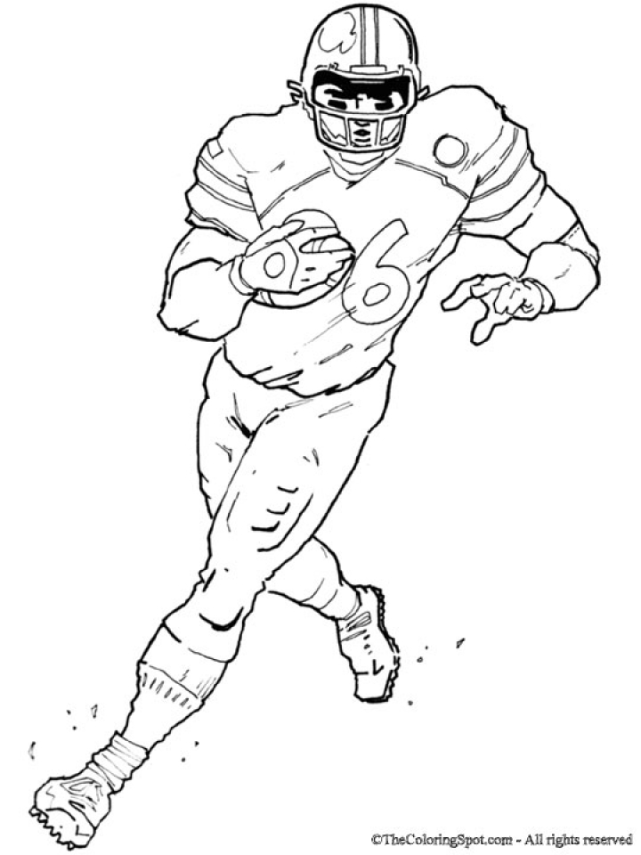 Get This Football Player Coloring Pages to Print Online 63719 !