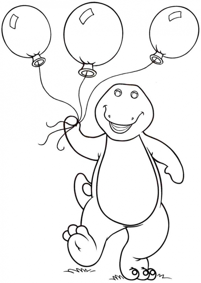 free barney coloring pages to print for kids 43780 - Barney Coloring Pages