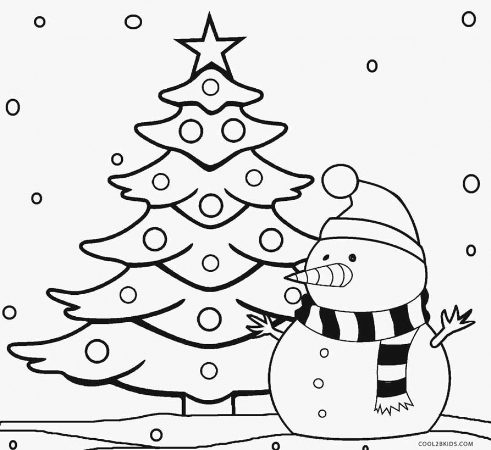 Get This Free Christmas Tree Coloring Pages to Print 84259 !
