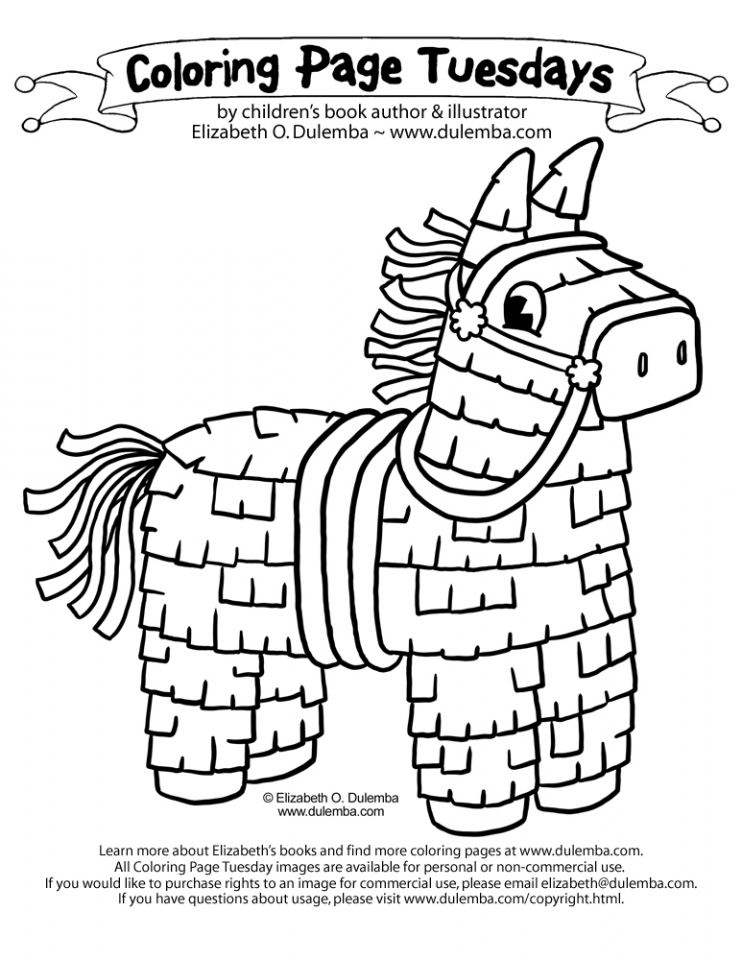 Free Cinco De Mayo Coloring Pages For Toddlers 05438