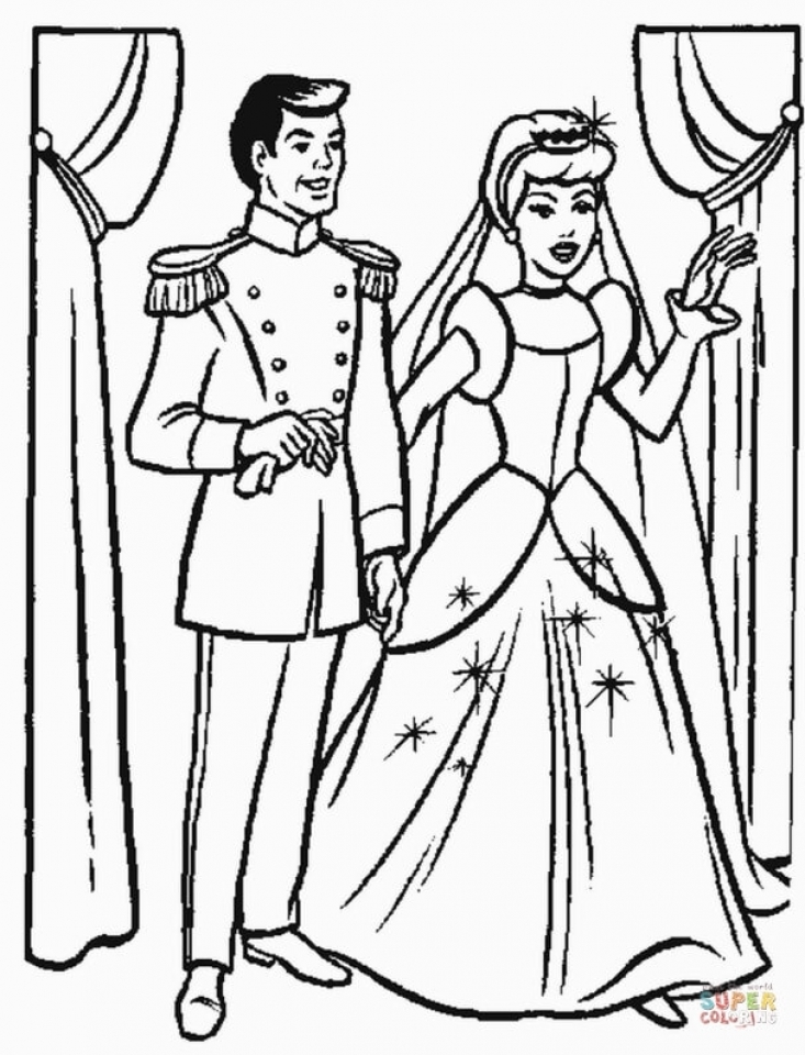 Get This Free Cinderella Coloring Pages to Print 83897 !