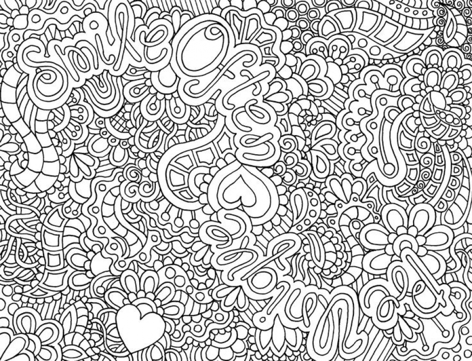 difficult coloring pages - Difficult Coloring Books