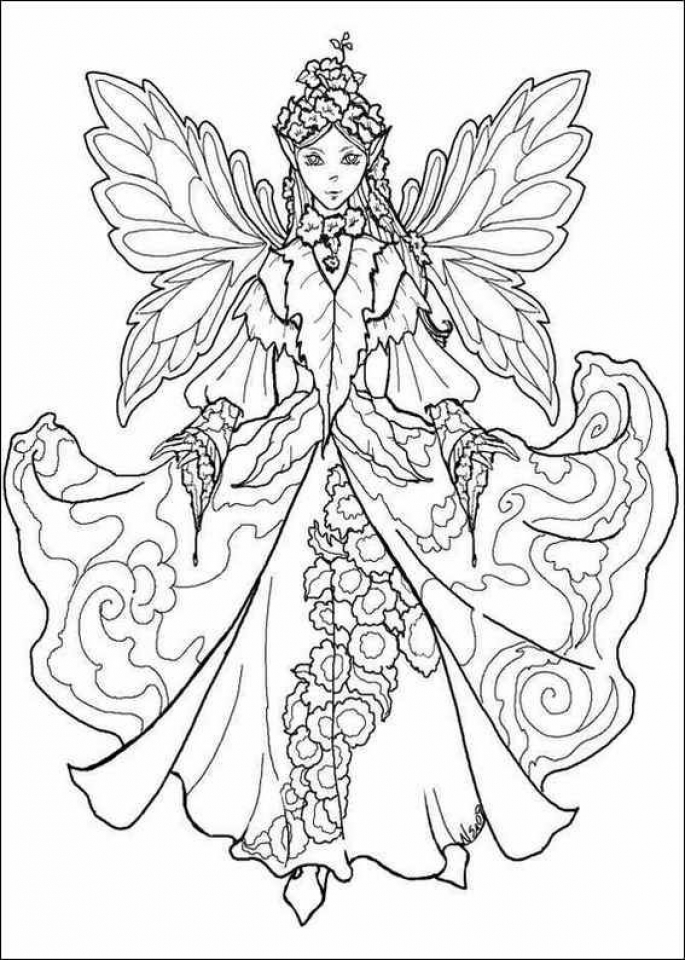 free fairy coloring pages 90196 - Printable Godzilla Coloring Pages