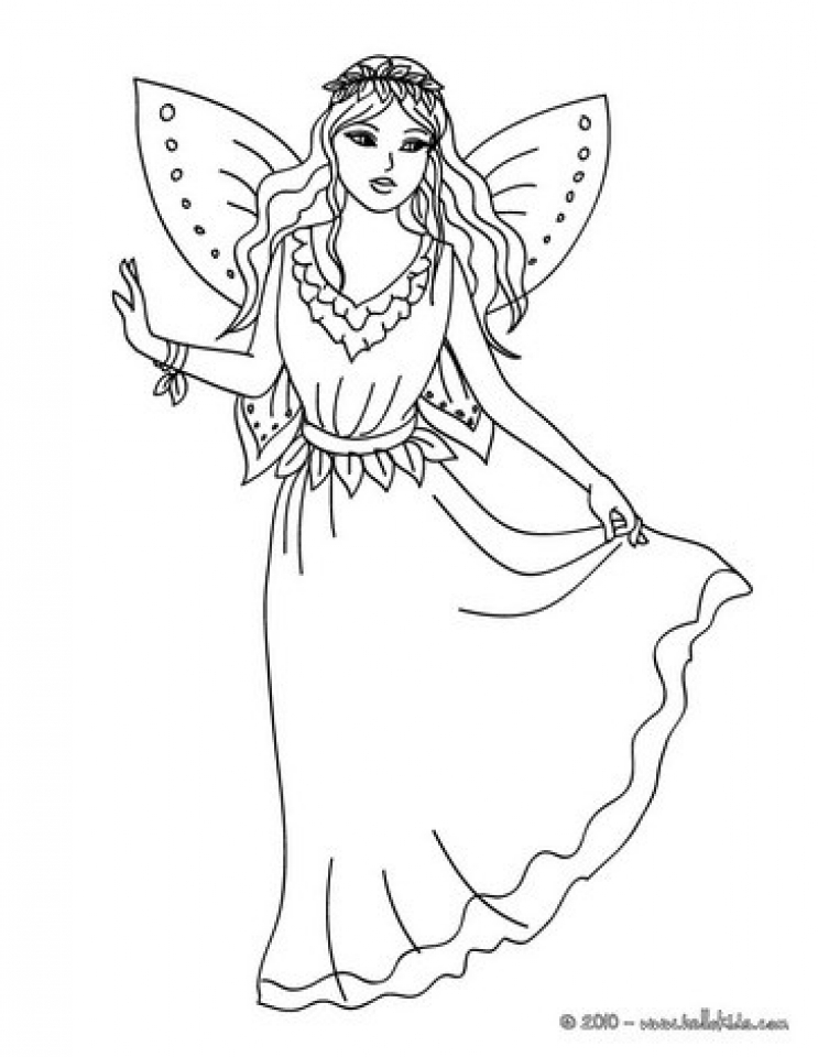 free fairy coloring pages to print 83898 - Free Fairy Coloring Pages
