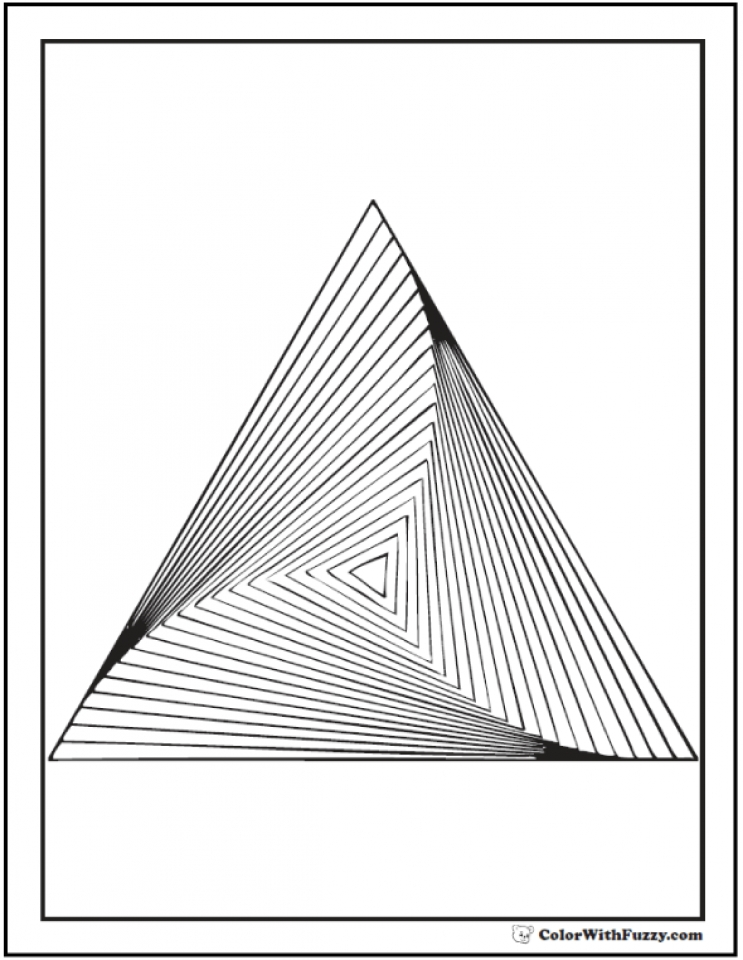 Get This Free Geometric Coloring Pages 90192 !