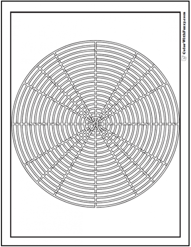 Get This Free Geometric Coloring Pages To Print 94073