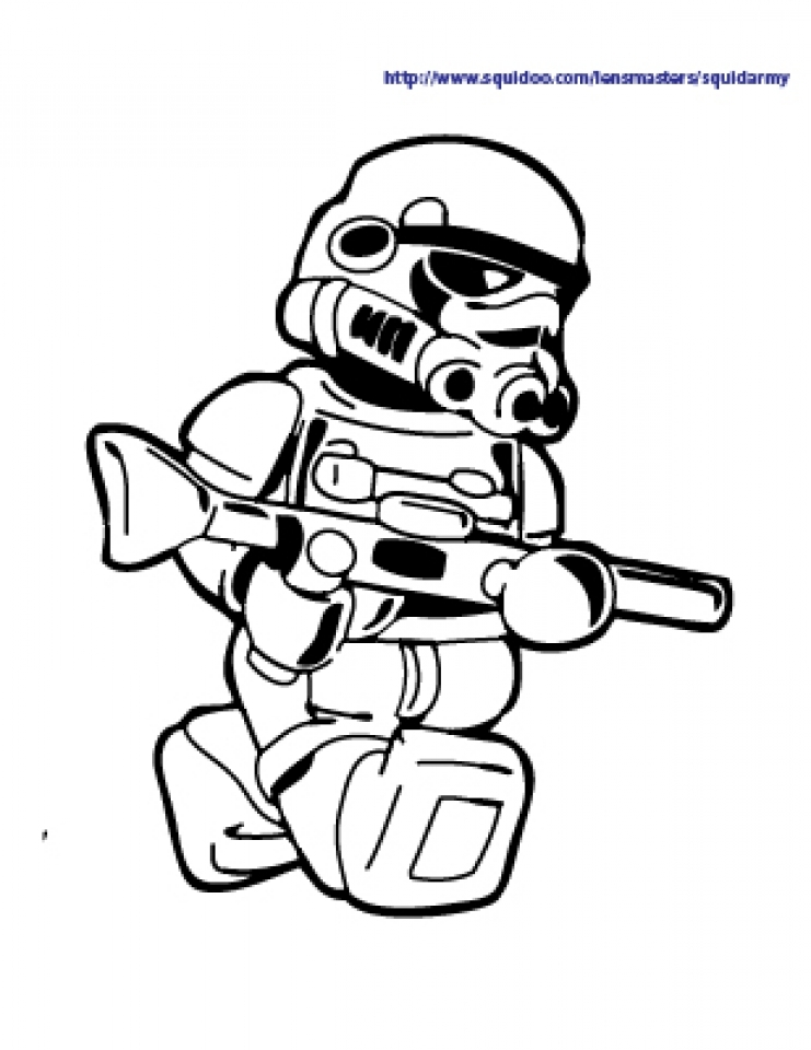 Get This Free Lego Star Wars Coloring Pages 42933
