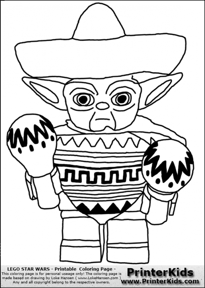 Get This Free Lego Star Wars Coloring Pages 46304