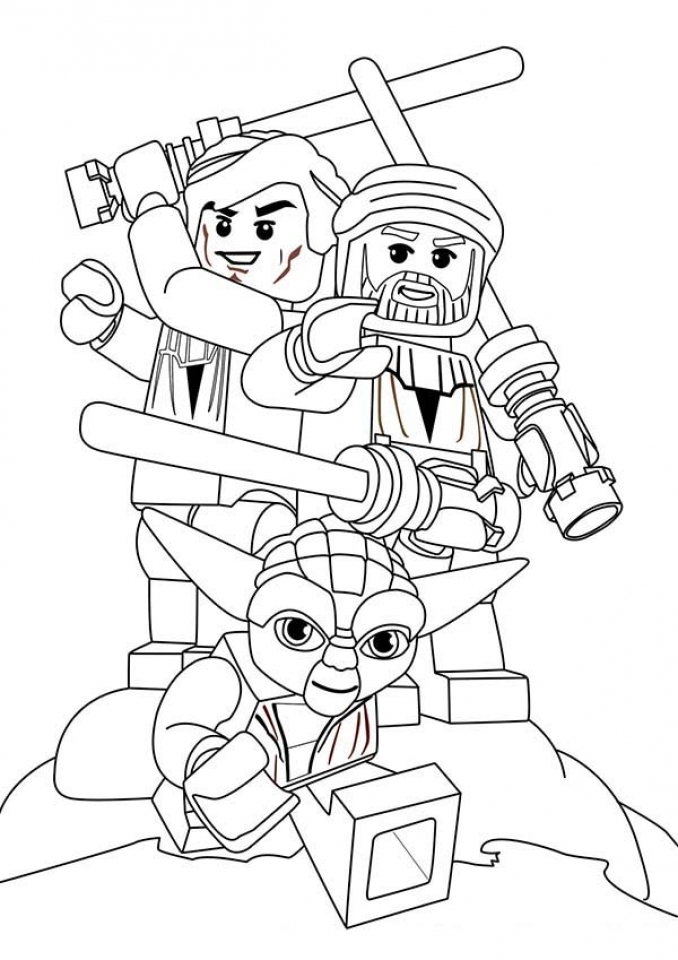 Get This Free Lego Star Wars Coloring Pages to Print 89529 !