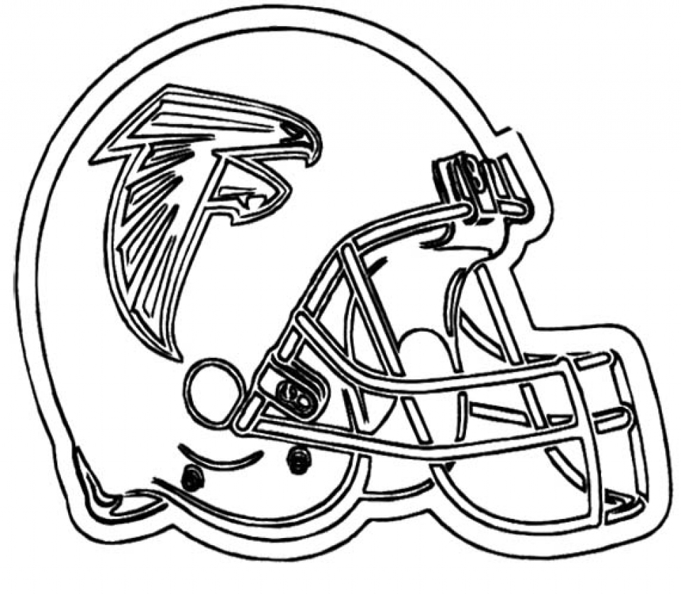 Get This Free Printable Football Helmet NFL Coloring Pages ...