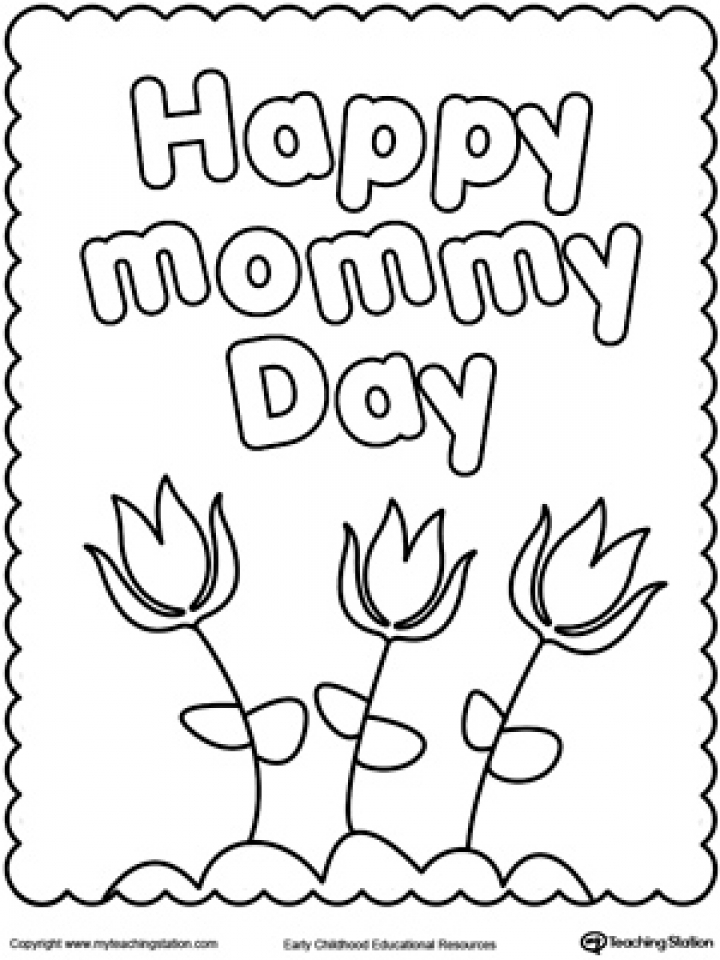 free printable mothers day coloring pages 73871 - Free Mothers Day Coloring Pages