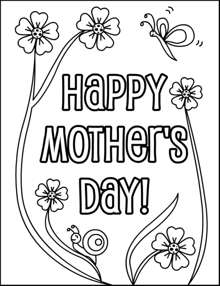 Get This Free Printable Mothers Day Coloring Pages 84898