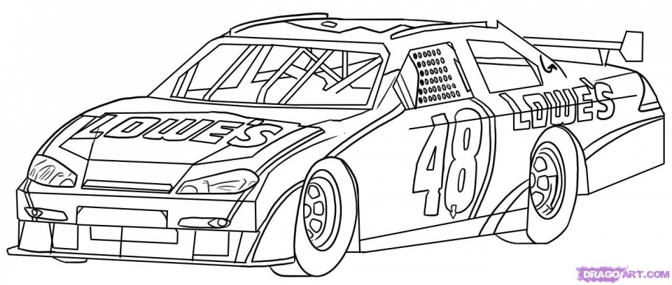 free printable nascar coloring pages for children 72790 - Nascar Coloring Pages