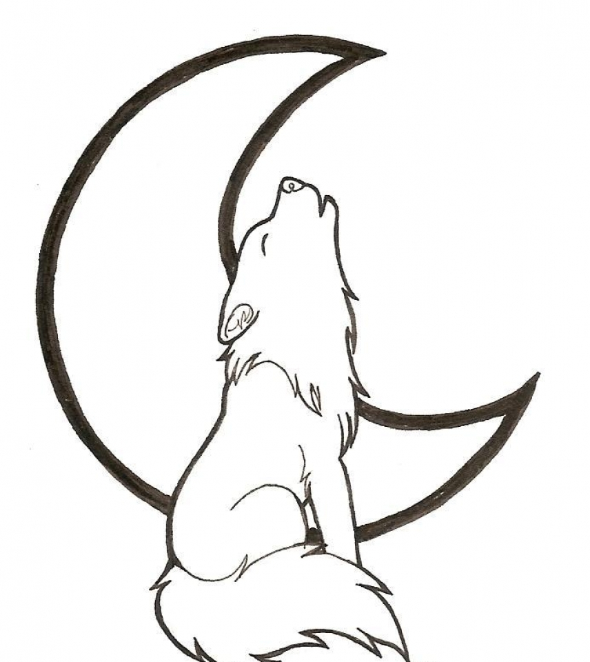 Get this free printable wolf howling coloring pages 57821 for Free printable wolf coloring pages