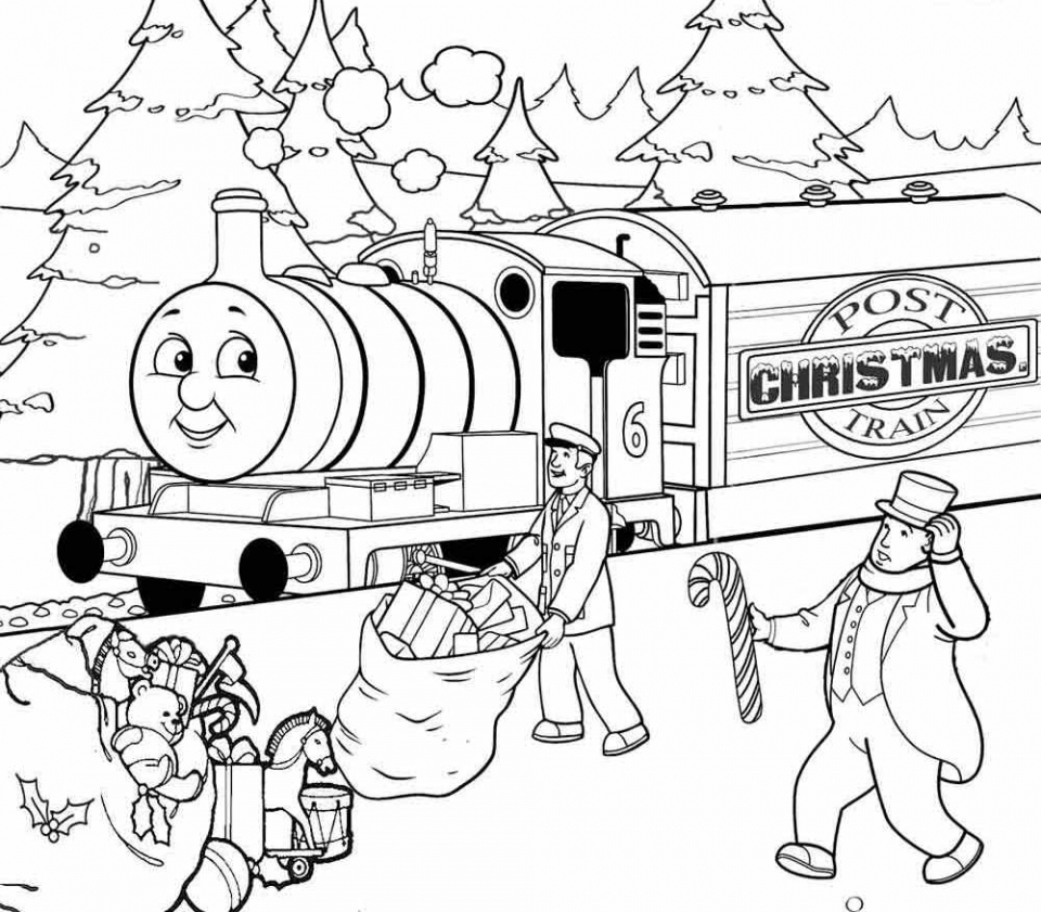 Get This Free Thomas The Train Coloring Pages To Print 81321